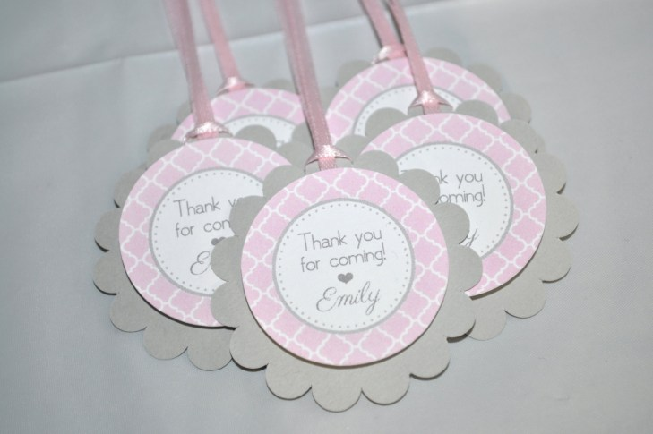 Girls Baby Shower Favor ...