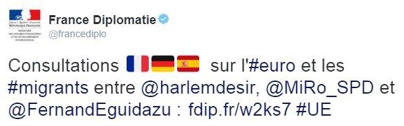 FranceDiplo-trilateral-emoji-tweet