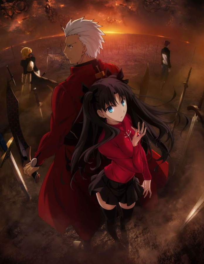 Fate Stay night 2014 anime series key visual