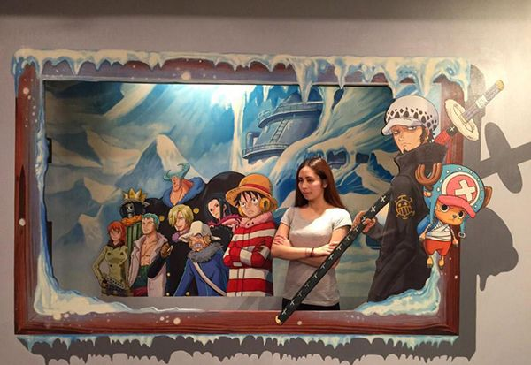 One Piece 3D Art Exhibit  Bringing the Anime to Life