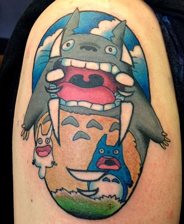 21 Adorable Ghibli-Inspired Tattoos Only A True Ghibli Fan Would Get