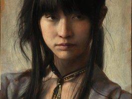Portrait Paintings by Osamu Obi