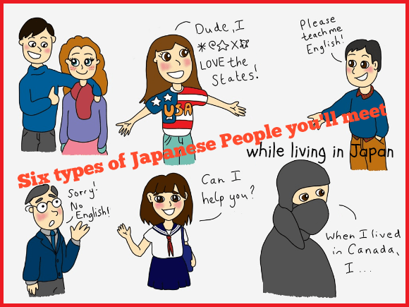 Six types of Japanese people you'll meet while living in Japan — An illustrated guide