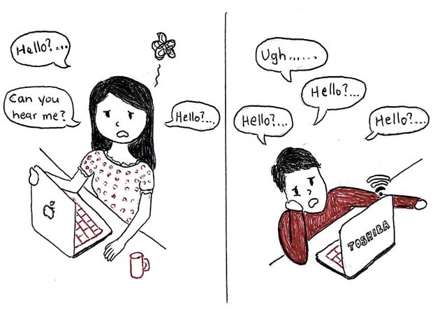 Artist Depicts The Beauty Of Long Distance Relationship By Lovely Illustrations