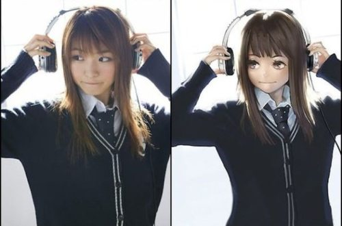 Real girls versus their anime counterparts