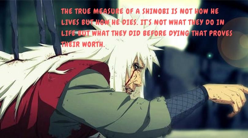 jiraiya s quotes that left impact on us ⋆ anime manga