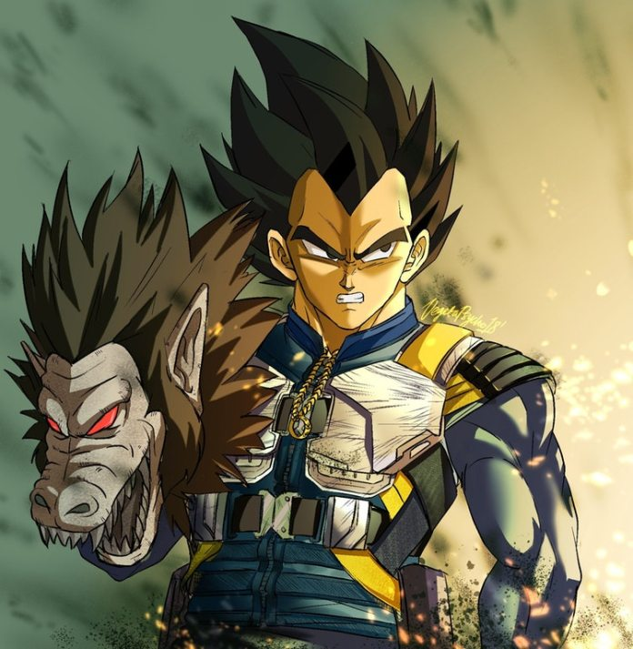 Vegeta Wearing Killmonger's Armor Is A Pure Saiyan Awesomeness