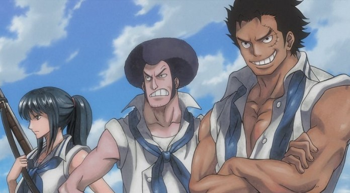 Rocks – A Legendary Pirate Crew Revealed in Chapter 907