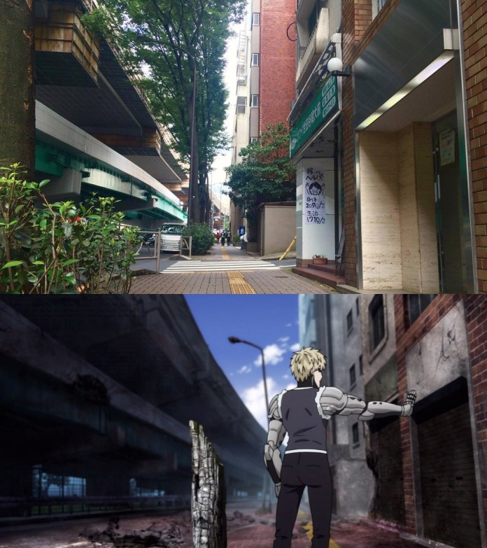 Saitama's Apartment is a Real Place in Japan