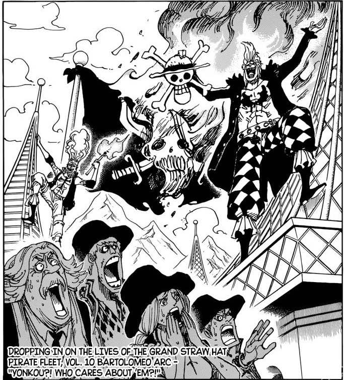 The death of Shanks foreshadowed