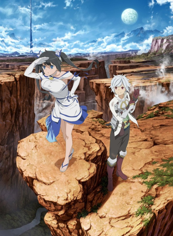 Danmachi season 2 key visual