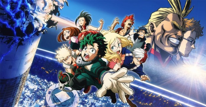 Image result for New My Hero Academia Film Set for a Winter 2019 Release