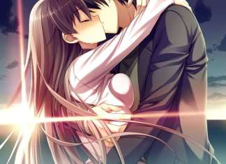Romantic Kiss Anime Wallpaper