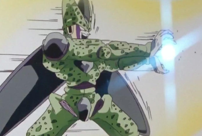 Cell from Dragon Ball Z anime