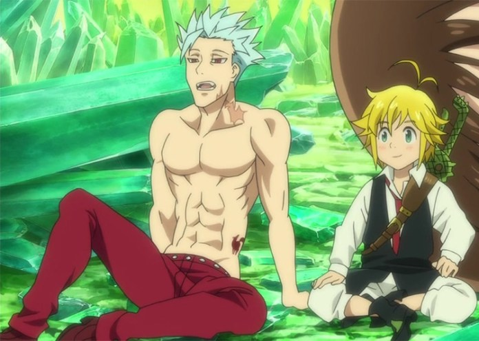 Meliodas and Ban in The Seven Deadly Sins