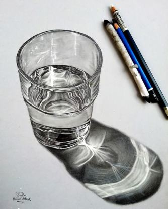 glass-water-drawing