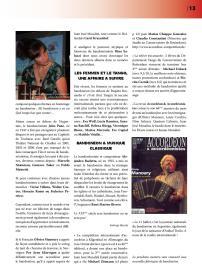 Article sur le bandonéon (4) paru dans la revue Tout Tango n° 12 Juillet-Août-septembre 2007 - 2ème page
