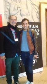 Cineasta Marcelo Santiago e Produtor de Moda Rui Pinho