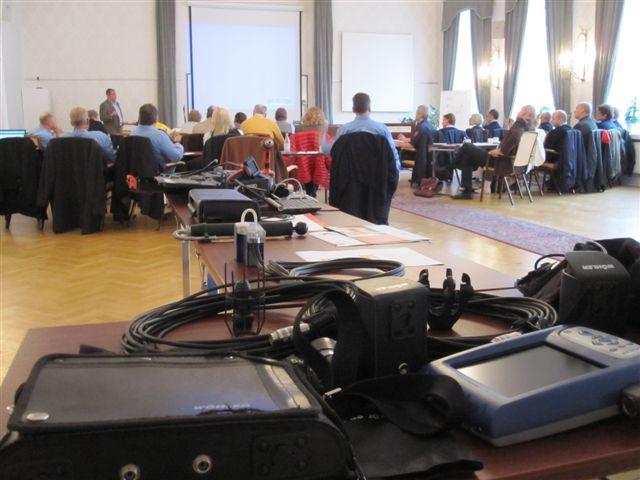 På SIMAB-dagen förevisades även teknisk utrustning.