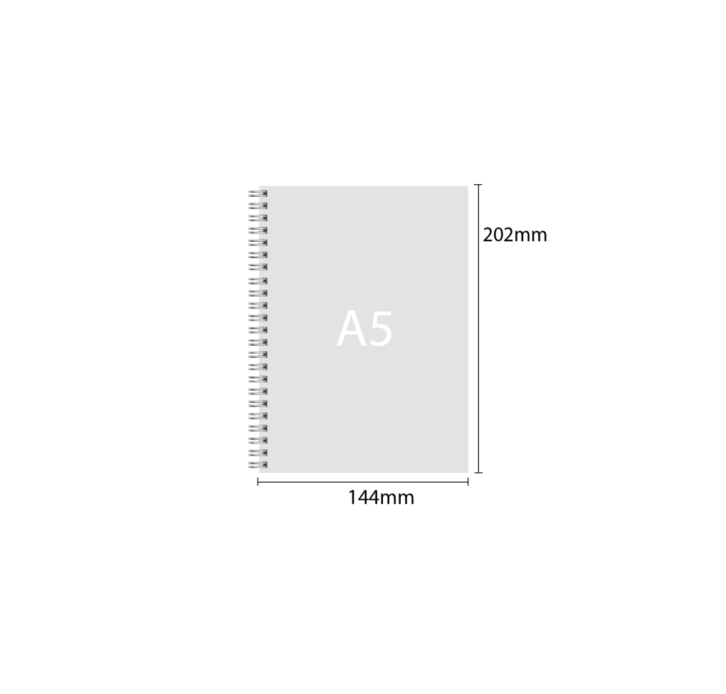 A5 fit (140x200mm)