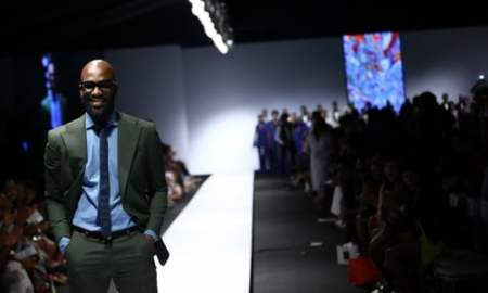 Mai Atafo at lagos Fashion and Design Week