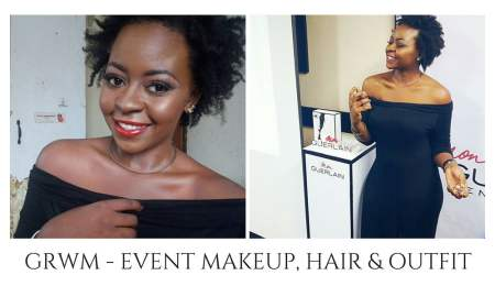red carpet event with Deola Adebiyi