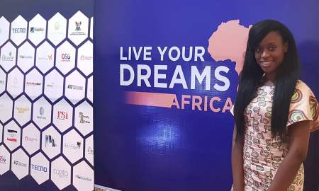 Oma Ehiri at Live Your Dreams Africa