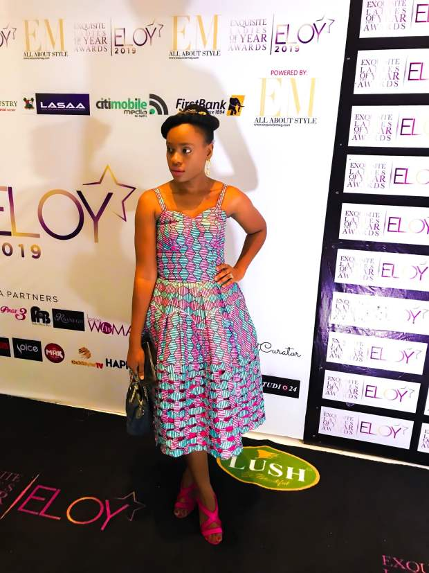 ankara ball dress