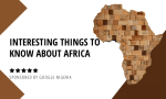 map of Africa highlighting the interesting things to know about Africa
