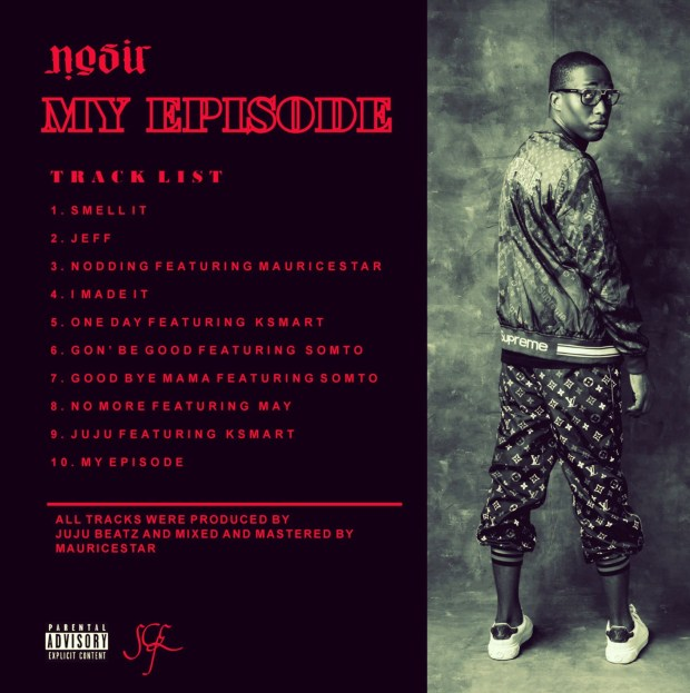 tracks on my episode by nosir