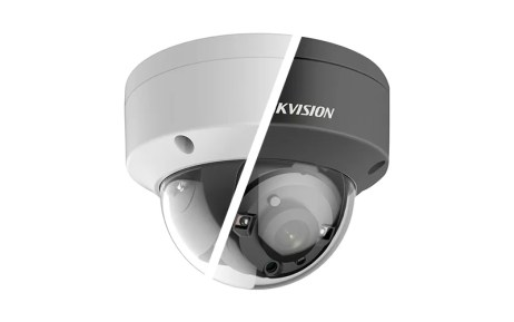 Hikvision DS-2CE56D7T-VPIT 6mm 2MP Outdoor HD-TVI Dome Camera with Night Vision & 6mm Lens Balck - Ivory