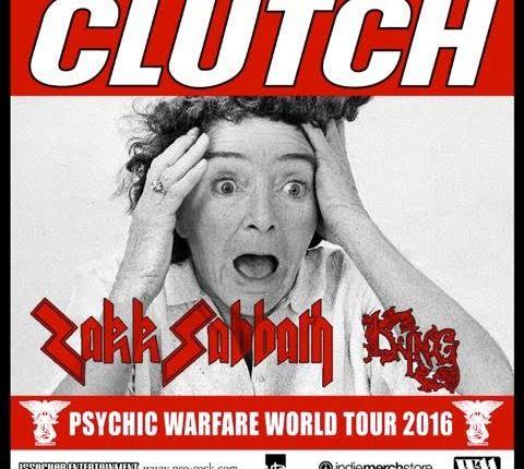 CLUTCH Announces U.S. Headlining Tour With ZAKK SABBATH, KYNG