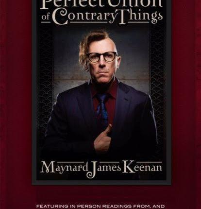 TOOL Frontman MAYNARD JAMES KEENAN Adds New York And Washington, D.C. Dates to Book Tour
