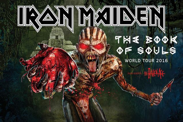 IRON MAIDEN: 'The Book Of Souls' World Tour Video Recap