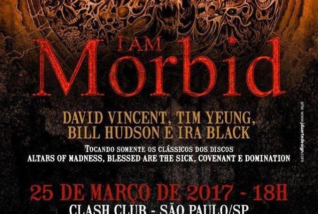 Former MORBID ANGEL Members DAVID VINCENT And TIM YEUNG Reunite In I AM MORBID
