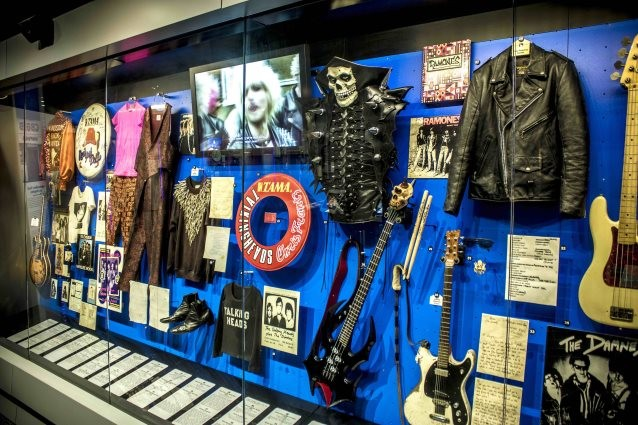 MISFITS Honored at New ROCK AND ROLL HALL OF FAME Exhibit