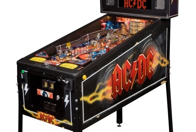 STERN PINBALL Encores AC/DC Pinball Machine For Limited Time
