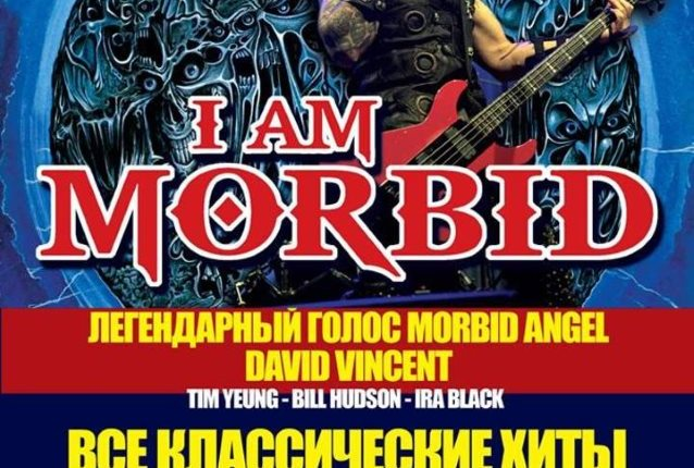 I AM MORBID Feat. Former MORBID ANGEL Members: Video Of First-Ever Concert