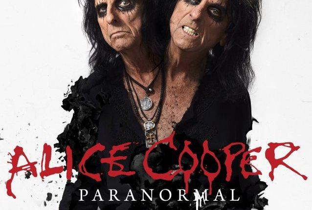 ALICE COOPER: 'Paranormal' Album Artwork Unveiled