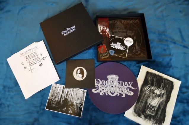 CANDLEMASS Mainman LEIF EDLING's THE DOOMSDAY KINGDOM Selling Box-Set Versions Of Debut Album