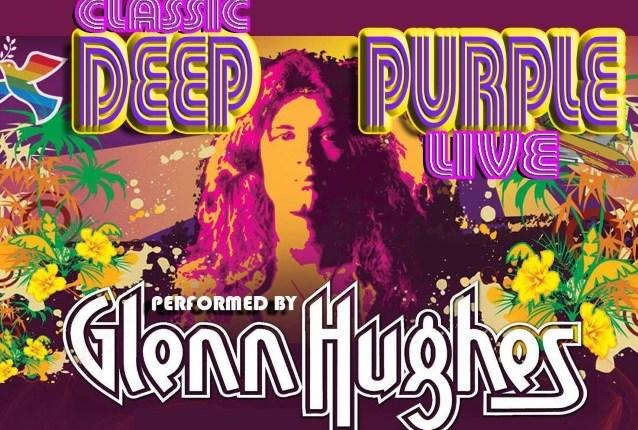 GLENN HUGHES Announces First U.S. Leg Of 2018 'Classic Deep Purple Live' Tour