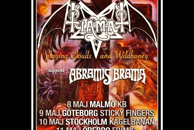 TIAMAT Plays Special 'Clouds' And 'Wildhoney' Set In Stockholm (Video)