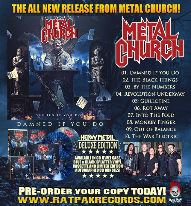MIKE HOWE Says Not Sounding Like DAVID WAYNE Made It 'Easy' For Him To Join METAL CHURCH in 1988