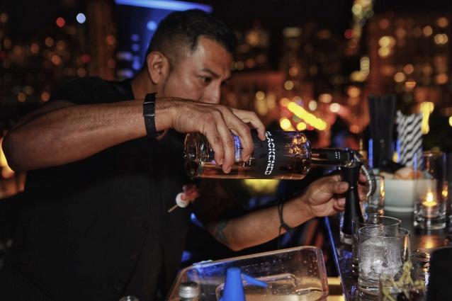 METALLICA Celebrates 'Blackened' Whiskey Launch In San Francisco: Photos