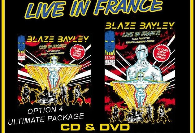BLAZE BAYLEY To Release 'Live In France' CD/DVD In March