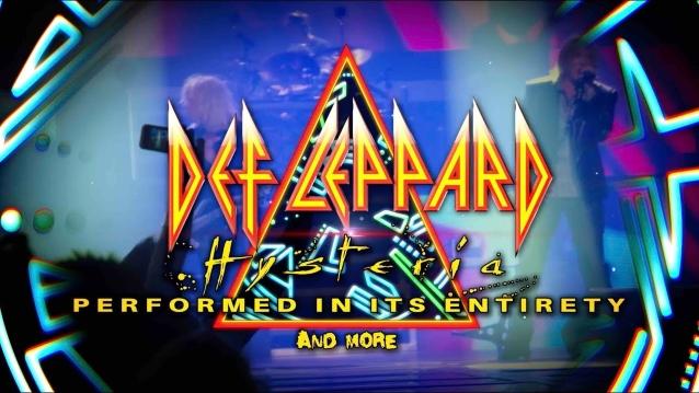 DEF LEPPARD: Video Recap Of 'Hysteria & More' Tour