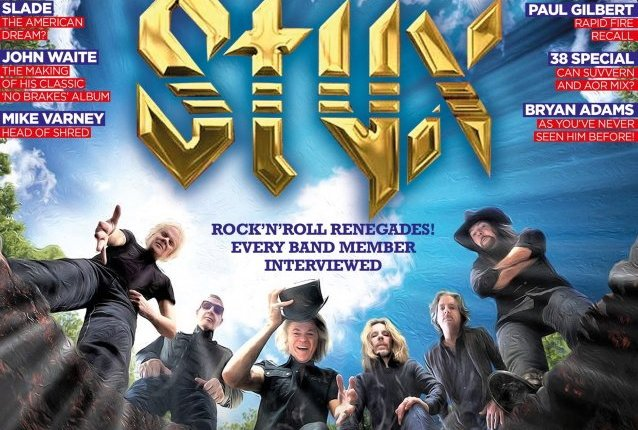 STYX's TOMMY SHAW: 'I Don't Lose Any Sleep' Over Not Being Inducted Into ROCK AND ROLL HALL OF FAME