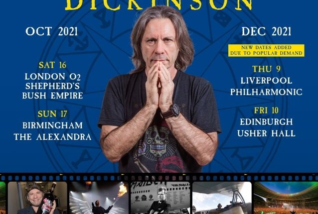 Watch IRON MAIDEN's BRUCE DICKINSON Sing A Cappella Version Of 'The Writing On The Wall' In London