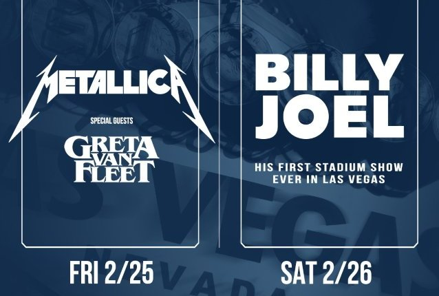 METALLICA To Play At Las Vegas's Allegiant Stadium With Support From GRETA VAN FLEET