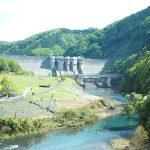 Enjoy the autumn outdoor barbecue, dam, spas, pools, Hiyoshi dam!